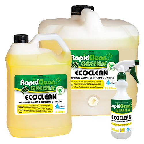 RapidClean EcoClean Biodegradable Heavy Duty Sanitiser