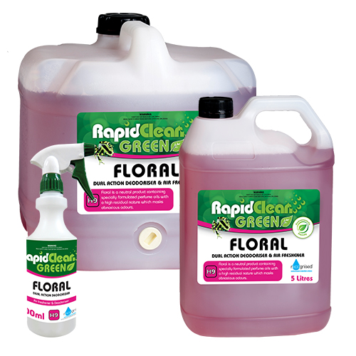 RapidClean Floral Deodoriser & Air Freshener