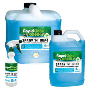 RapidClean Spray 'N' Wipe Multi Purpose Cleaner
