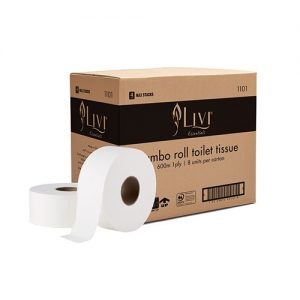 Livi Essentials Jumbo Toilet Rolls