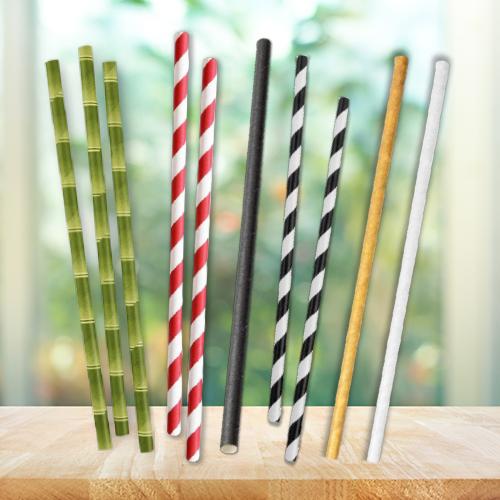 Envirostar Paper Straws