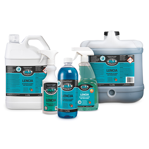 Oates LENCIA Biodegradable Bathroom Cleaner & Maintainer Detergent