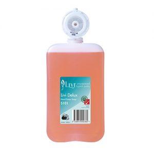 Livi Delux Perfumed Foam Hand Soap 1L