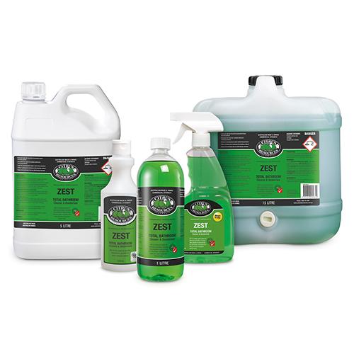 Oates ZEST Biodegradable Bathroom Cleaner
