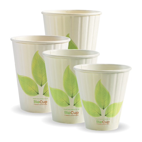 BioPak Leaf Double Wall Hot Cups