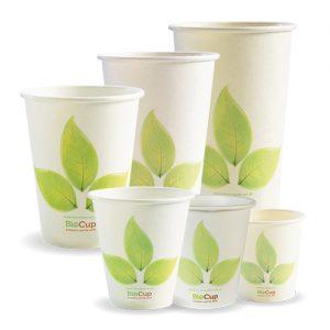 BioPak Leaf Single Wall Hot Cups