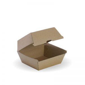 BioPak BioBoard Burger Box