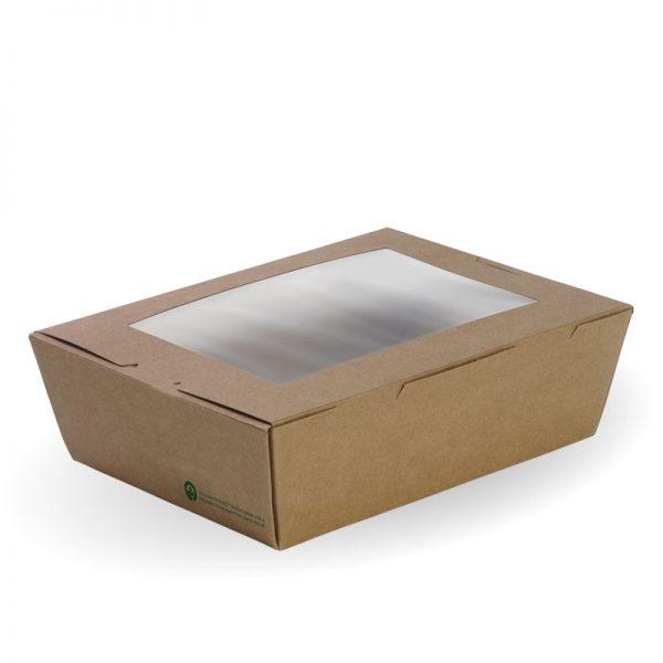 BioPak BioBoard Windowed Lunch Boxes