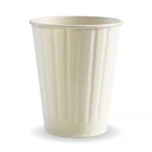 BioPak White Double Wall Hot Cups