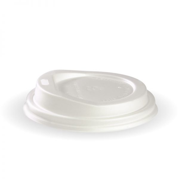 BioPak Compostable Hot Cup Lids