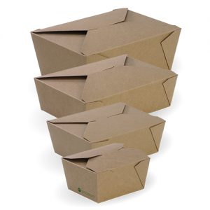 BioPak BioBoard Lunch Boxes