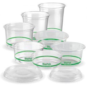 BioPak Clear BioDeli Bowls